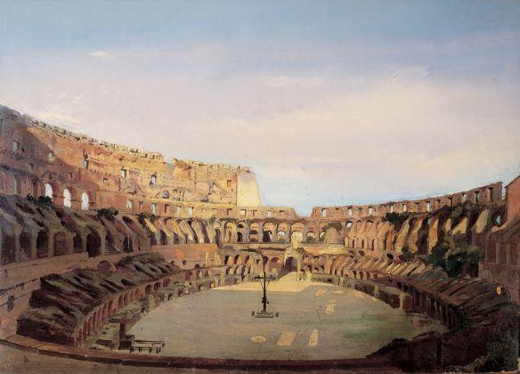 Ippolito Caffi, Interno del Colosseo, 1857. Roma, Museo di Roma Palazzo Braschi © Roma Capitale, Sovrintendenza Capitolina ai Beni Culturali. Archivio fotografico del Museo di Roma