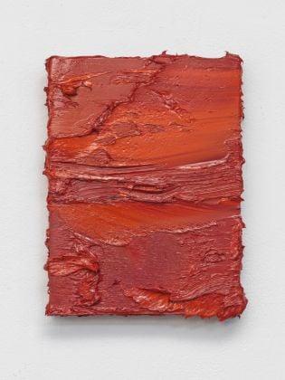 Jason Martin, Untitled (Cadmium Red Coral Orange), 2017