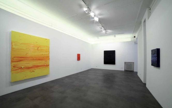 Jason Martin. New Oils. Exhibition view at Galleria Mimmo Scognamiglio, Milano 2017