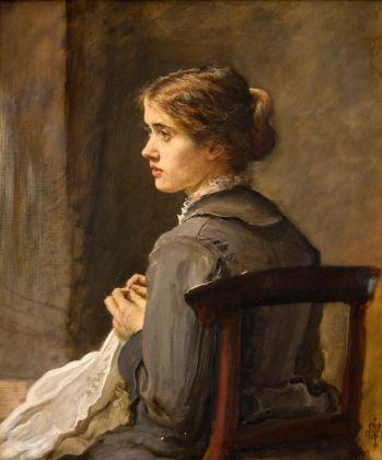 John Everett Millais, Stich! Stich!, 1876. Johannesburg Art Gallery