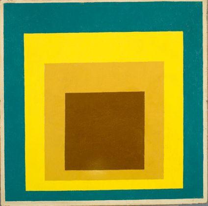 Joseph Albers, Study for Homage to the Square. Still Remembered, 1954 56. Mart, Rovereto. Photo Mart Archivio Fotografico e Mediateca