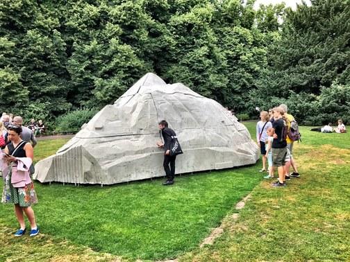 Justin Matherly, Skulptur Projekte Münster 2017