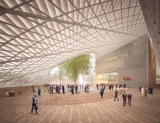 Kéré Architecture, BF National Assembly. Photo credits Kéré Architecture