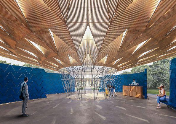 Kéré Architecture, Serpentine Pavilion. Photo credits Kéré Architecture