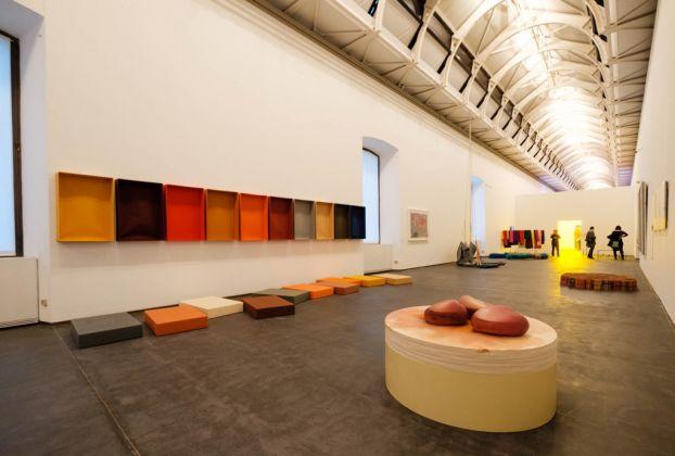 L'emozione dei colori nell'arte. Exhibition view at GAM, Torino 2017. Photo Andrea Guermani