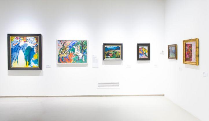 L'emozione dei colori nell'arte. Exhibition view at GAM, Torino 2017. Photo Giorgio Perottino