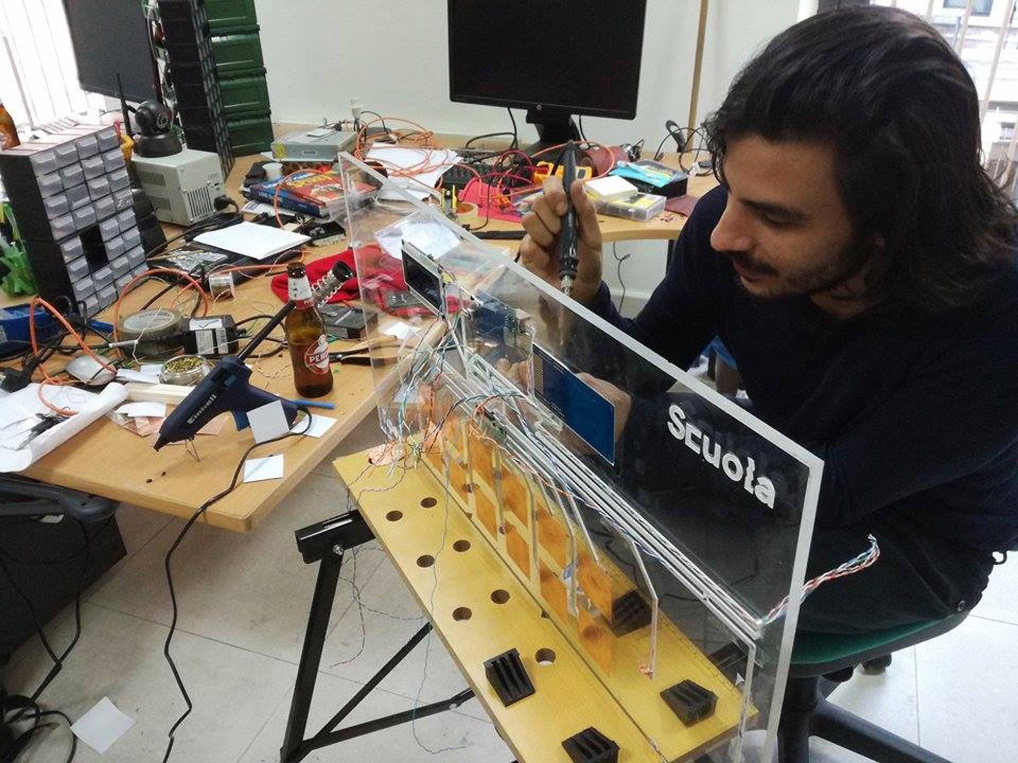 La Scuola Open Source, Bari. Photo courtesy La Scuola Open Source