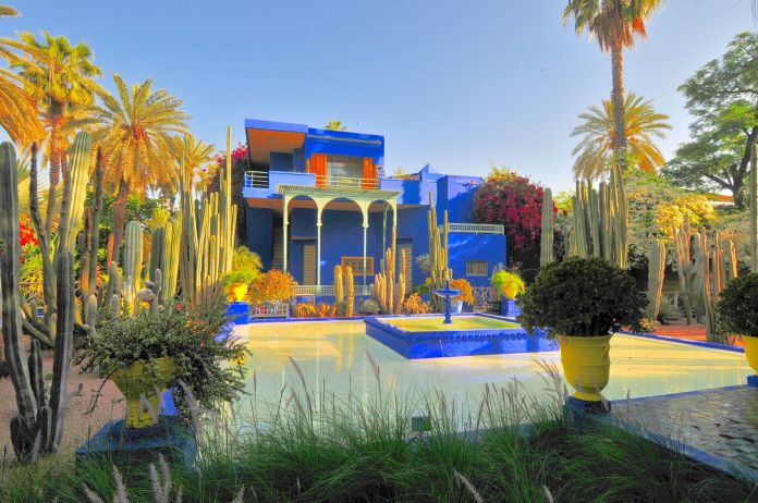 La villa di Yves Saint Laurent a Marrakech