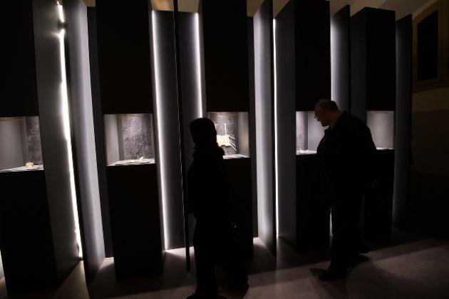L'allestimento del Museo Oro d'Autore. Collezione di Gioielli Contemporanei