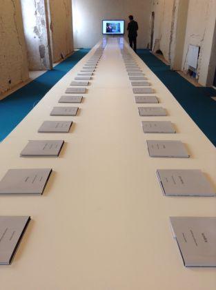 Les nouveau Encyclopédistes, Exhibition view at Chiostri di San Pietro e Palazzo da Mosto, Reggio Emilia 2017. Photo Marta Santacatterina