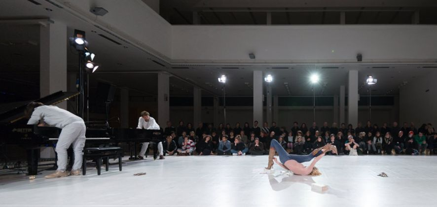 Live Arts Week VI. Alexandra Bachzetsis, Massacre. Variations on a Theme. Photo Luca Ghedini