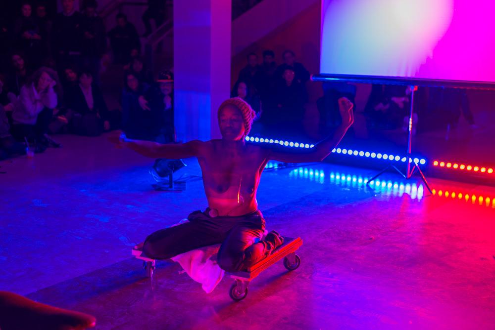 Live Arts Week VI. Dana Michel, Palna Easy Francis. Photo Luca Ghedini