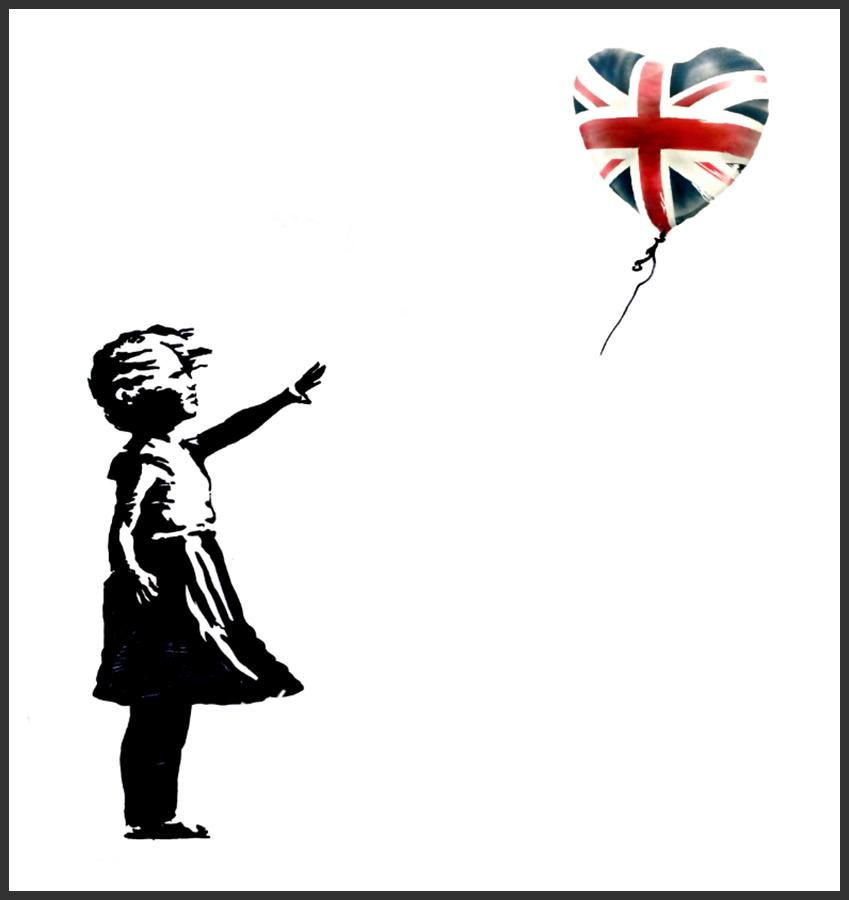 L'opera di Banksy per le elezioni britanniche