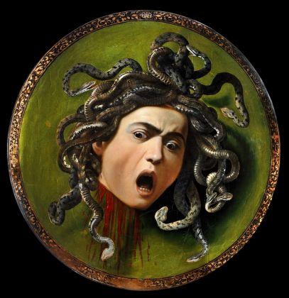 Michelangelo Merisi, Testa di Medusa Firenze, Galleria degli Uffizi