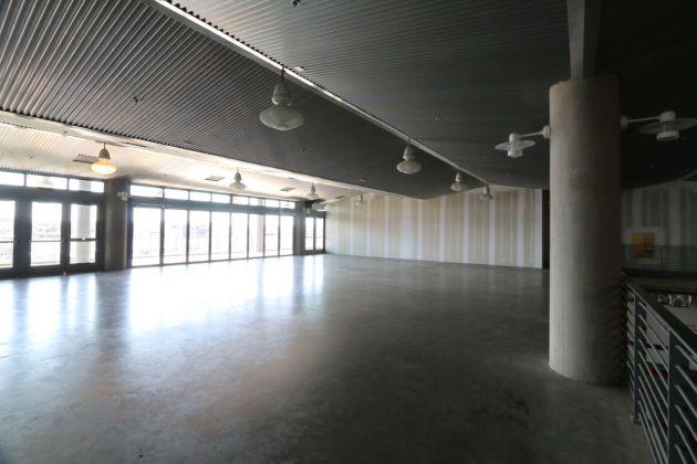 Il Museo del Capitalismo di Oakland, lo spazio prima dell'allestimento