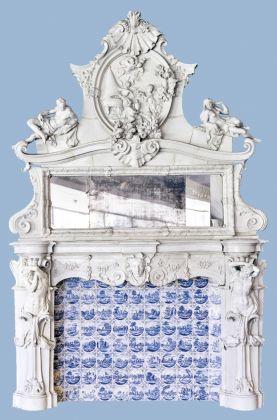 Manifattura di Doccia (Gaspero Bruschi), Caminetto, Porcellana, 1754. Sesto Fiorentino, Museo Richard Ginori della Manifattura di Doccia