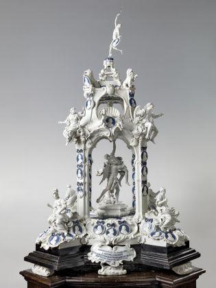 Manifattura di Doccia (Gaspero Bruschi), Tempietto Ginori, 1750, Porcellana, Cortona, Museo dell'Accademia Etrusca e della Città di Cortona