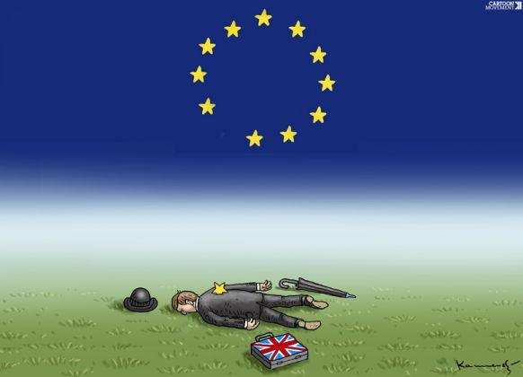 Marian Kamensky, Tragic Brexit