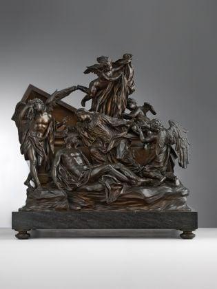 Massimiliano Soldani Benzi, Pietà, 1713-14, Bronzo. Seattle, Art Museum, Samuel H. Kress Collection