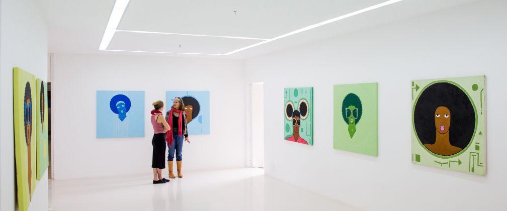 Michael Soi. Exhibition view at Circle Art Gallery, Nairobi 2017