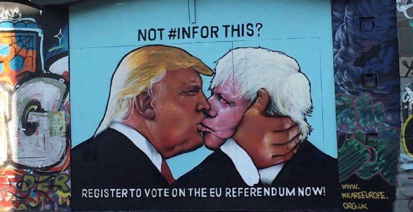 Not #InForThis, 2016 Collettivo WeAreEurope, Bristol