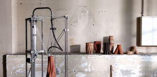 Olivier Van Herpt, Sediment Vases, 2015 16. Design Academy Eindhoven. Photo Femke Rijerman