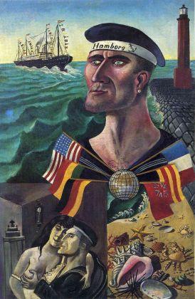 Otto Dix, Addio a Amburgo, 1921