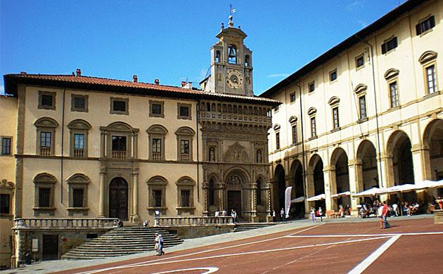 Palazzo Fraternita ad Arezzo