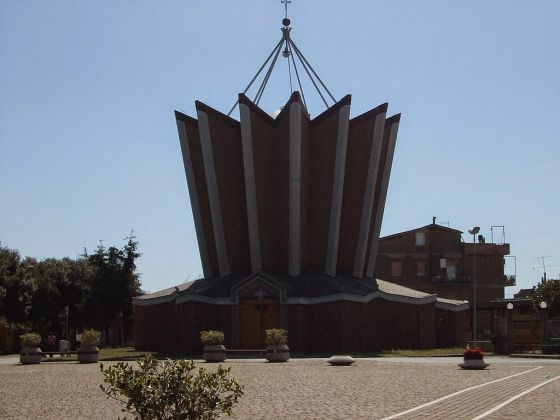 Paolo Portoghesi, Chiesa dei Santi Cornelio e Cipriano, Calcata 2002-2009