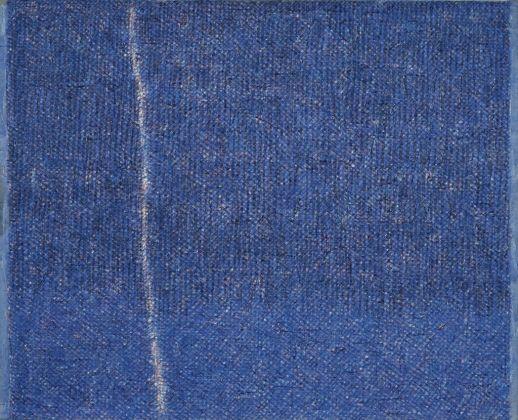 Piero Dorazio, Crack bleu, 1959. Collezioni Intesa Sanpaolo © Archivio Attività Culturali, Intesa Sanpaolo. Photo Paolo Vandrasch