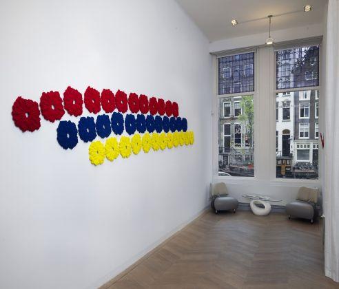 Pino Pinelli, Disseminations, veduta della mostra. Amsterdam, THE MERCHANT HOUSE GALLERY. PH.GJ.vanROOIJ