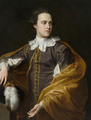 Pompeo Batoni, Ritratto di Sir Charles Watson, olio su tela, 1775. Fondazione Cassa di Risparmio di Lucca