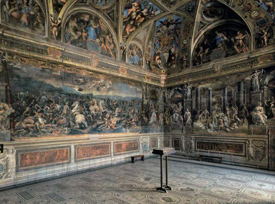Veduta della Sala di Costantino, Musei Vaticani, Palazzi Apostolici Vaticani, Stanze di Raffaello © Governatorato dello Stato della Città del Vaticano