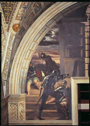 Raffaello Sanzio (1483-1520), Liberazione di S. Pietro (part.), affresco, 1512-14, Musei Vaticani, Palazzi Apostolici Vaticani, copyright Governatorato dello Stato della Città del Vaticano