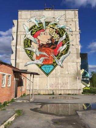 Satka Street Art Festival 2017, Diamond