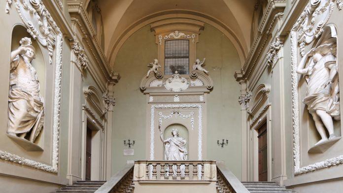 Lo Scalone di Palazzo Pallavicini