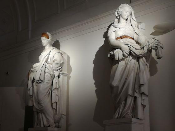 Serpotta e il suo tempo, veduta della mostra. Palermo, Oratorio dei Bianchi. Ph. Desiree Maida