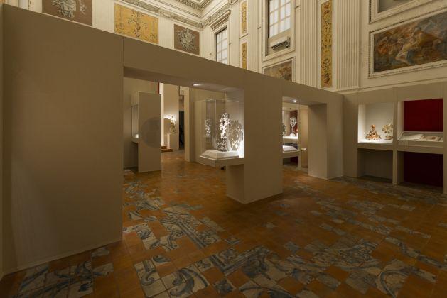 Serpotta e il suo tempo, veduta della mostra. Palermo, Oratorio dei Bianchi. Ph. Pietro Milici