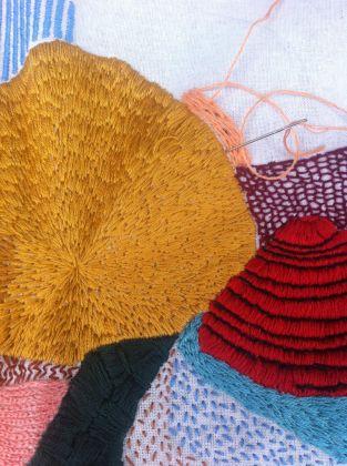 Silvia Rossi, Profilo Riso #1, #2, #3, work in progress, installazione, materiali vari