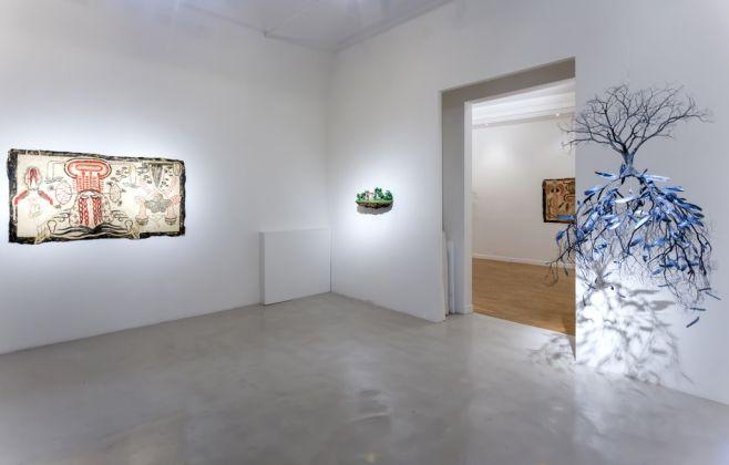 Simone Pellegrini & Jorge Mayet. Arriaca. Exhibition view at Montoro12 Contemporary Art, Roma 2017. Photo credits Yamina Tavani