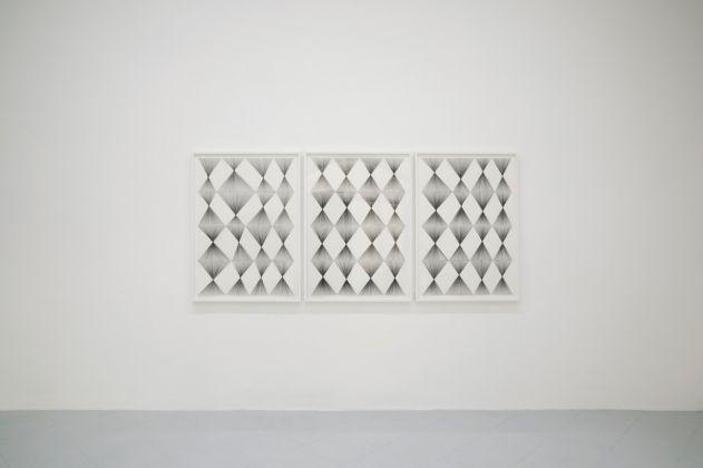 Sol LeWitt-Ignacio Uriarte. Exhibition view at Galleria Gentili, Firenze 2017. Photo Jacopo Menzani
