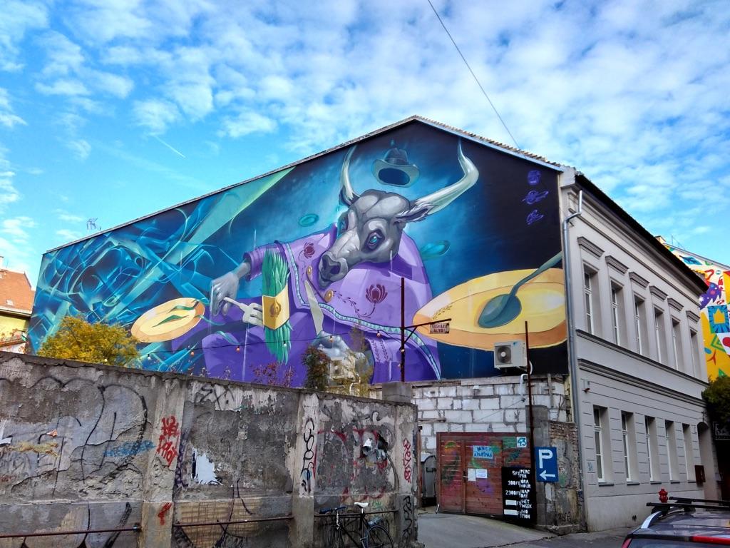 Street Art nel settimo distretto di Pest