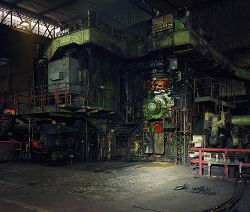 Thomas Struth, Laminazione a caldo, Thyssenkrupp Steel, Duisburg, 2010 © Thomas Struth, 2017