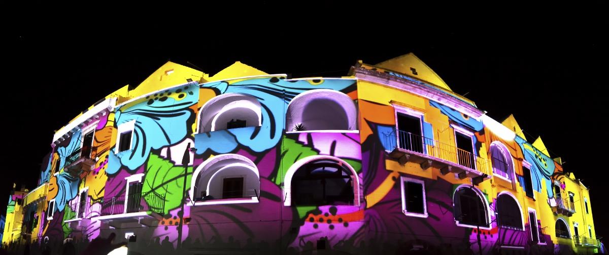 VideoMapping Locorotondo, photo Emanuele Colabello