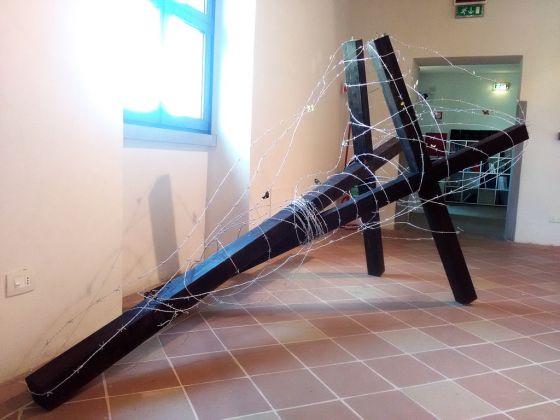 Violenti Confini. Exhibition view at Pinacoteca Comunale, Città di Castello 2017