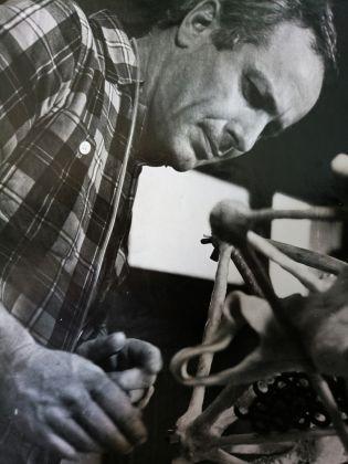 Vittorio Giorgini, ritratto, Courtesy Associazione B.A.Co. – Archivio Vittorio Giorgini