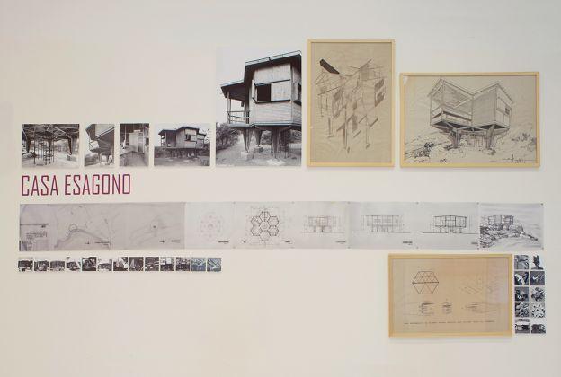Vittorio Giorgini. Exhibition view at La Triennale di Milano, 2017. Photo Armando Perna