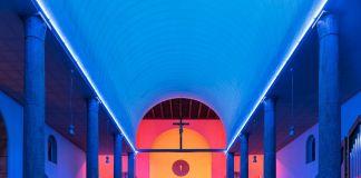 William Basinski, Chiesa di Santa Maria Annunciata in Chiesa Rossa, Milano 2017. Photo Delfino Sisto Legnani