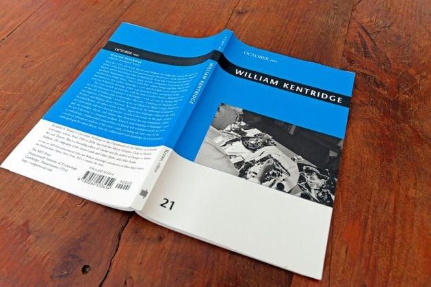 William Kentridge, a cura di Rosalind Krauss (October MIT Press, 2017). Photo Antonio Sena