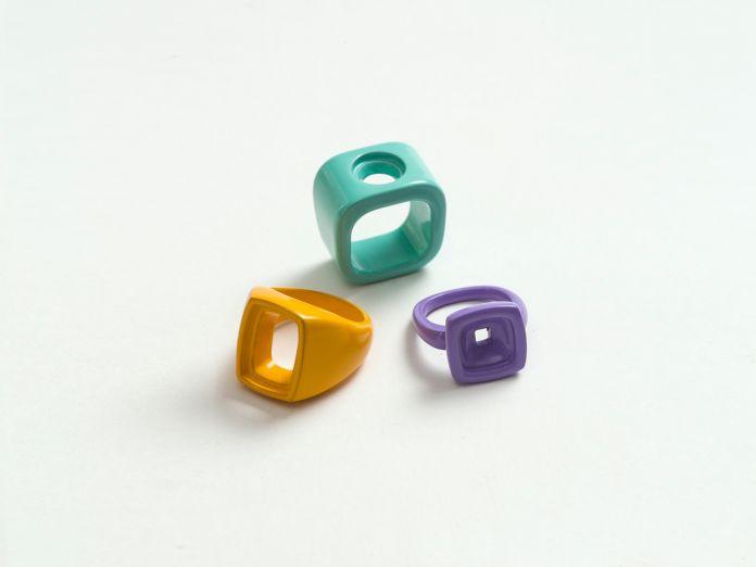 I gioielli disegnati da Tobias Rehberger per Gems and Ladders